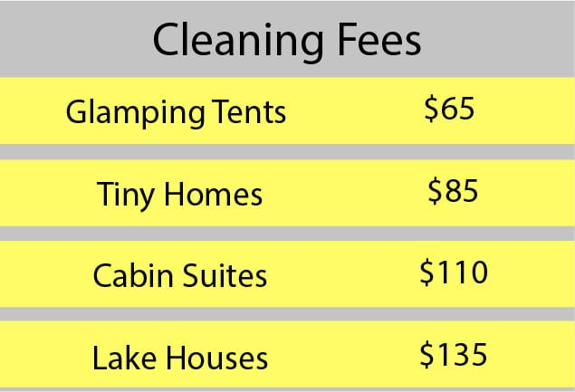 Cleaning Fees
