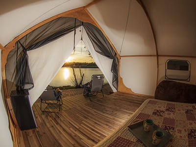 Glamping Tents - Bringing Glamour and Camping Together