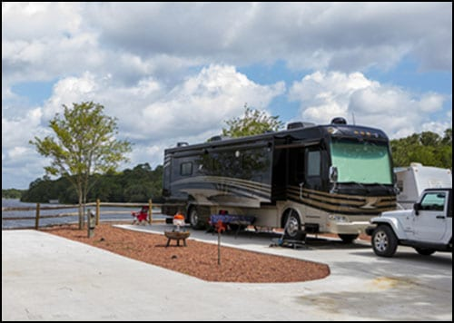 Full Hookup RV Sites
