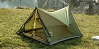 Tenting outdoors may not give you a luxurious and comfortable stay